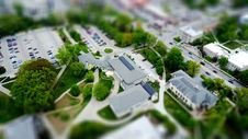 Free Model Of College Building Royalty Free Stock Photos - 91630788