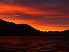Free Glorious Orange Sunset  Royalty Free Stock Photography - 91630797