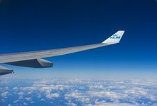 Free Airplane Wing Royalty Free Stock Image - 91630846