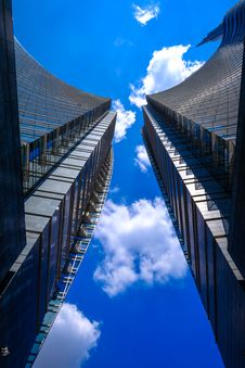 Free High Rise Buildings Royalty Free Stock Image - 91630896