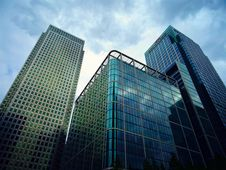 Free Glass Skyscrapers Stock Photography - 91630992