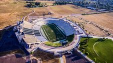 Free Aerial Photo Of Gray And White Stadium Stock Photography - 91664402