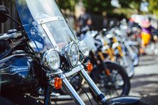 Free Motorbikes On Street Royalty Free Stock Image - 91664916