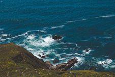 Free Cliffs Along Rocky Coastline Royalty Free Stock Photos - 91666038
