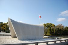 Free Peace Dome Memorial Cenotaph In Hiroshima, Japan Royalty Free Stock Image - 9175276