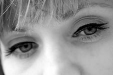 Free Beautiful Eyes Stock Image - 9176351