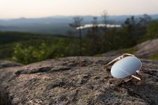 Free Glasses Of The Sun. Stock Image - 91754451