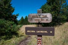 Free Aspen Loop / Arizona Trail Royalty Free Stock Photo - 91754995