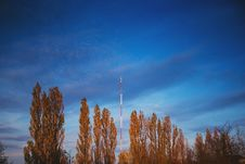 Free FM And TV Mast Royalty Free Stock Images - 91755299