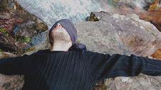Free Danijel Šivinjski Blindfolded At Stara Planina Stock Photos - 91755773