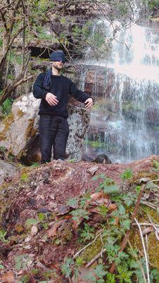 Free Danijel Šivinjski Blindfolded At Stara Planina Stock Images - 91755794