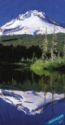 Free Mount Hood - ID: 16217-202737-0218 Royalty Free Stock Photography - 91756157
