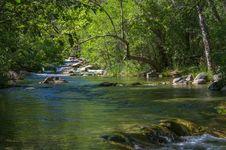 Free Fossil Creek Bridge Royalty Free Stock Image - 91756286