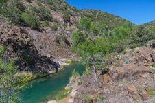 Free Tonto Bench, Fossil Creek Stock Photos - 91756333