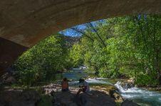Free Fossil Creek Bridge Royalty Free Stock Photography - 91756397