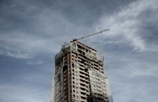 Free High Rise Under Construction Royalty Free Stock Image - 91758946