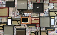 Free Background Of Amps And Media Royalty Free Stock Photo - 91760065