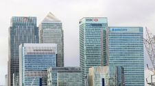 Free London City Banks District Royalty Free Stock Photography - 91760157