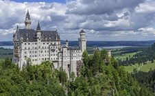 Free Neuschwanstein Castle Stock Images - 91761124