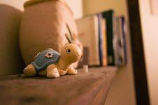 Free Turtle Toy On Shelf Royalty Free Stock Images - 91761419