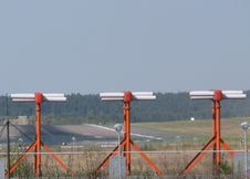 Free Airfield Runway Stock Images - 91769004