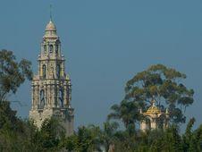 Free Balboa Park Towers Royalty Free Stock Photo - 91771035