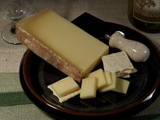 Free Beaufort D Alpage Cheese Royalty Free Stock Photography - 91771377