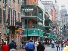 Free Bourbon Street Royalty Free Stock Image - 91772056