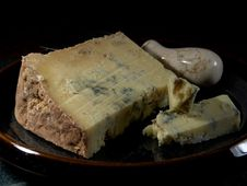 Free Dorset Blue Vinny Cheese Royalty Free Stock Photo - 91776045