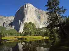 Free El Capitan And Merced River In Yosemite Stock Photography - 91776062