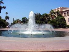 Free Fountain In Balboa Park Stock Images - 91777944