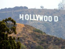 Free Hollywood Sign Royalty Free Stock Image - 91779436