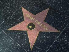 Free Hollywood Stars Kermit The Frog Royalty Free Stock Photos - 91779508