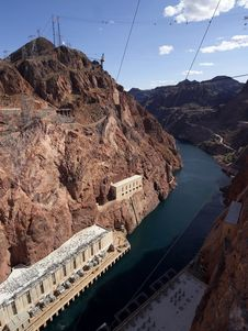 Free Hoover Dam Spillway Royalty Free Stock Photography - 91779607