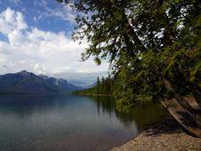 Free Lake Mcdonald In Glacier Stock Photography - 91780932