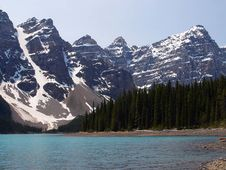 Free Moraine Lake In Banff Stock Photo - 91782380