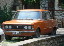 Free Orange Fiat Stock Photo - 91783940