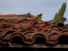 Free Roofing Tiles Royalty Free Stock Photography - 91785947