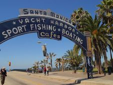 Free Santa Monica Pier Stock Photos - 91786863