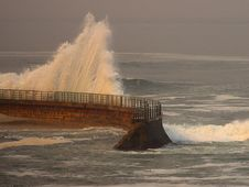 Free Seawall Stock Images - 91787044