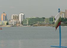 Free Seashore Hotels Royalty Free Stock Image - 91787116