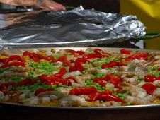 Free Shrimp Paella Royalty Free Stock Photography - 91787377