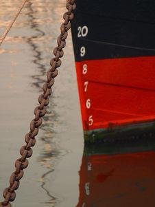 Free Ship At Anchor Royalty Free Stock Photos - 91787448