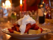 Free Strawberry Shortcake Royalty Free Stock Image - 91788756