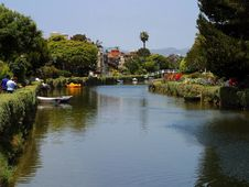 Free Venice Beach Canals Stock Photography - 91790892