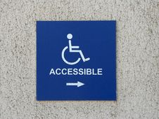 Free Wheelchair Accessable Royalty Free Stock Photo - 91791435