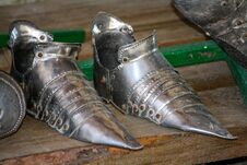 Free The Iron Shoes Of The Knight Stock Image - 91795261