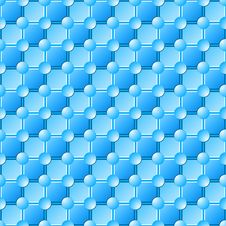 Free Seamless Blue Tile Pattern Stock Images - 9182114