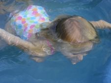 Free Young Girl In Swimming Pool Stock Image - 9184151