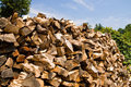 Free Stacked Pile Of Firewood - 2 Stock Image - 927341